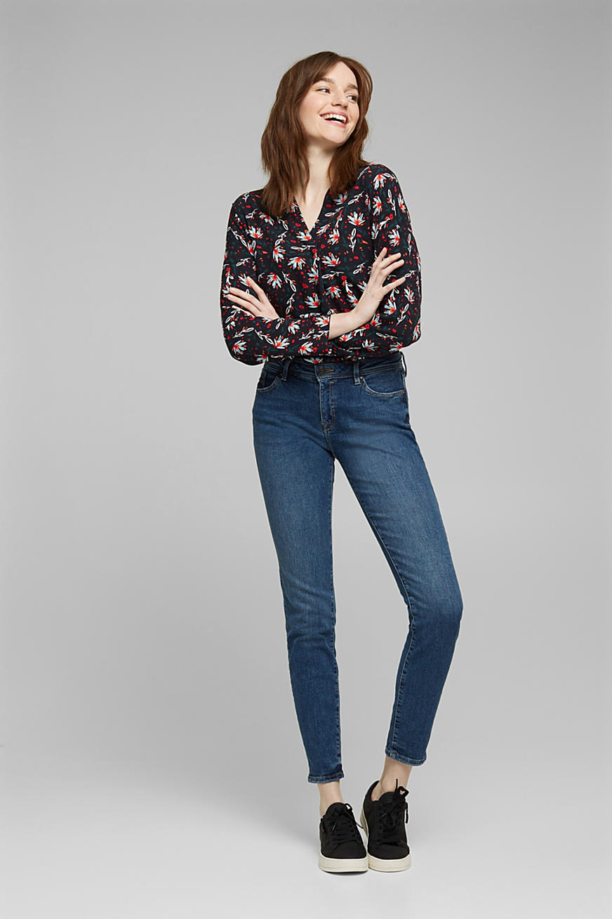 Jeans met organic cotton