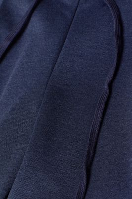 Stretch trousers in a tracksuit bottoms style, NAVY, detail