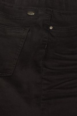 Treggings with an elasticated waistband, BLACK, detail