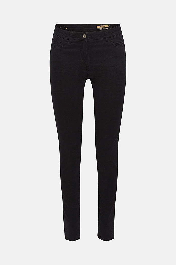 Super stretch trousers, BLACK, detail image number 0