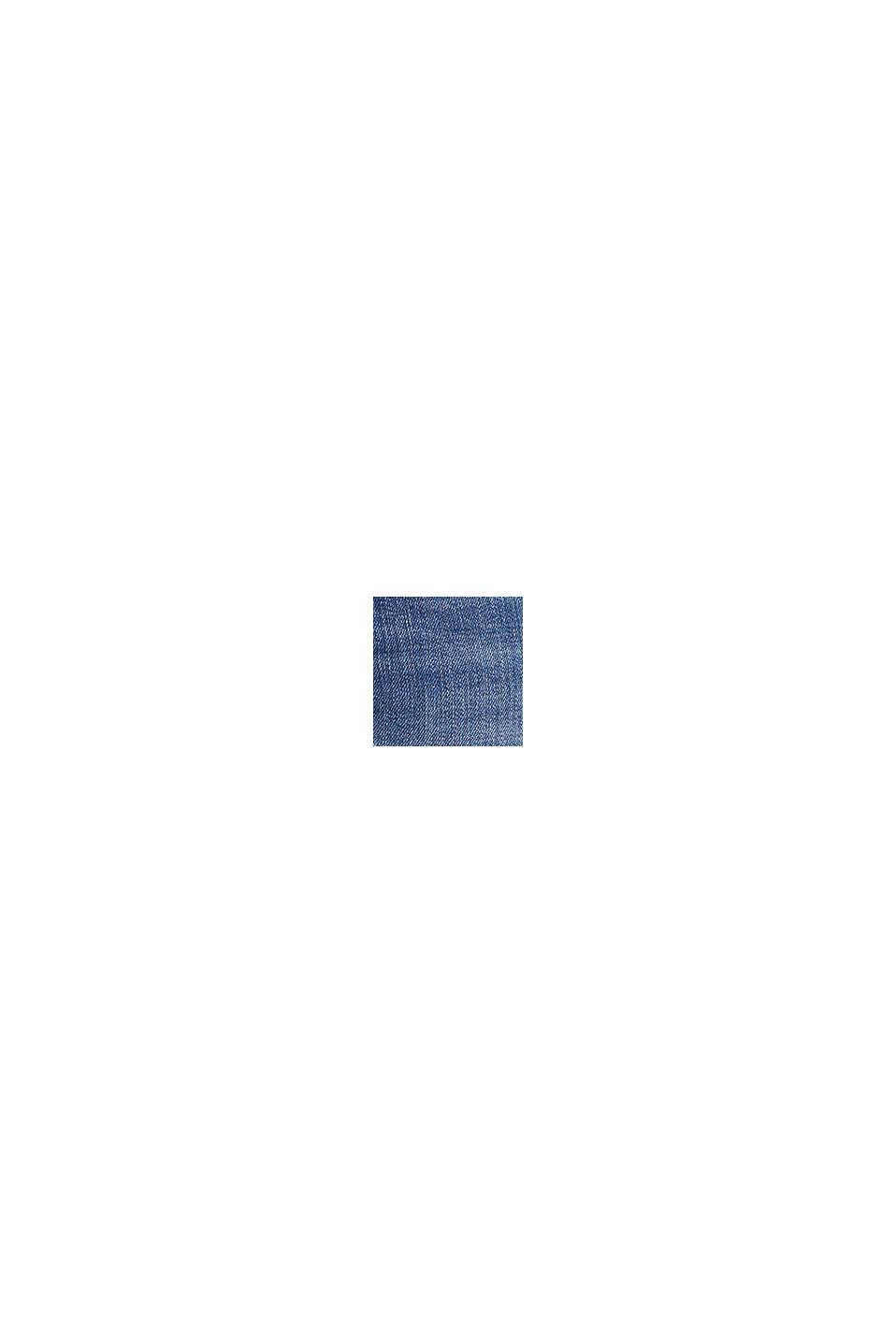 Vaqueros elásticos con efecto desgastado, BLUE MEDIUM WASHED, swatch