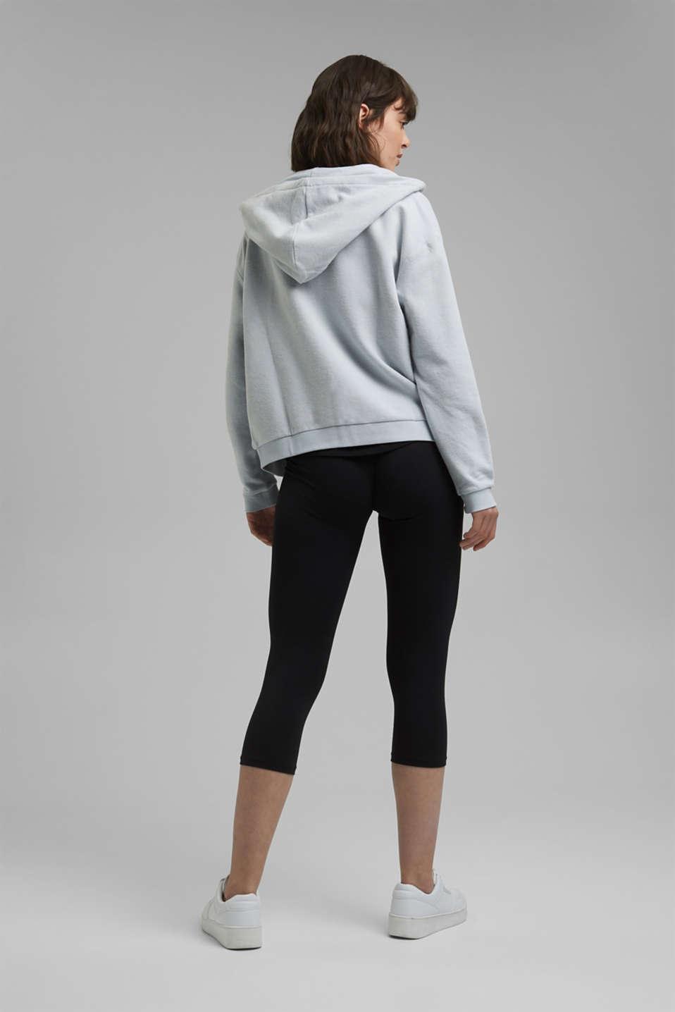Capri leggings with stretch, BLACK, detail image number 2