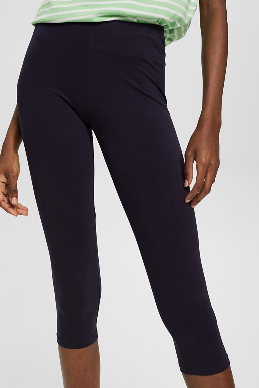 Caprilegging met stretch