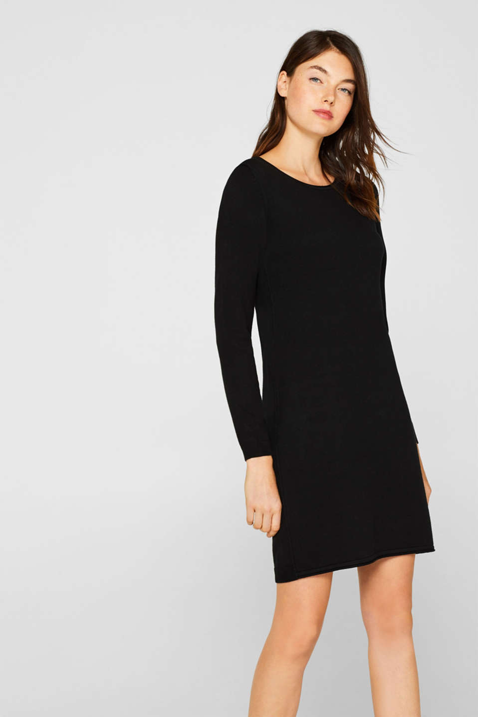 edc - Knitted dress in a basic look