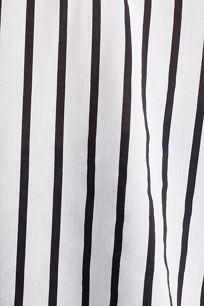 Striped Henley blouse, OFF WHITE, detail image number 4