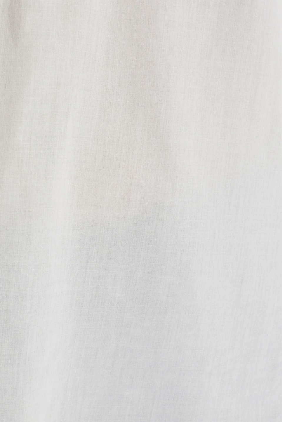 Blouse with turn-up sleeves, OFF WHITE, detail image number 4