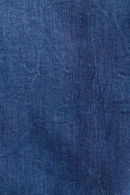 Denim jacket in a washed look, BLUE MEDIUM WASH, detail