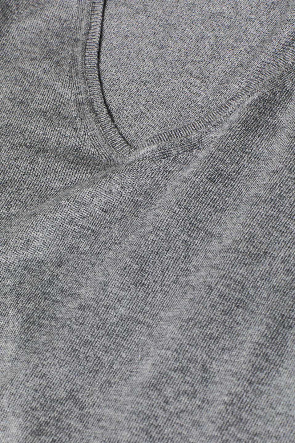Jumper with organic cotton, GUNMETAL 5, detail image number 2