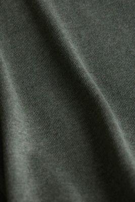 Jumper with organic cotton, KHAKI GREEN 5, detail
