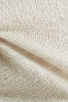 Jumper with organic cotton, SAND 5, detail