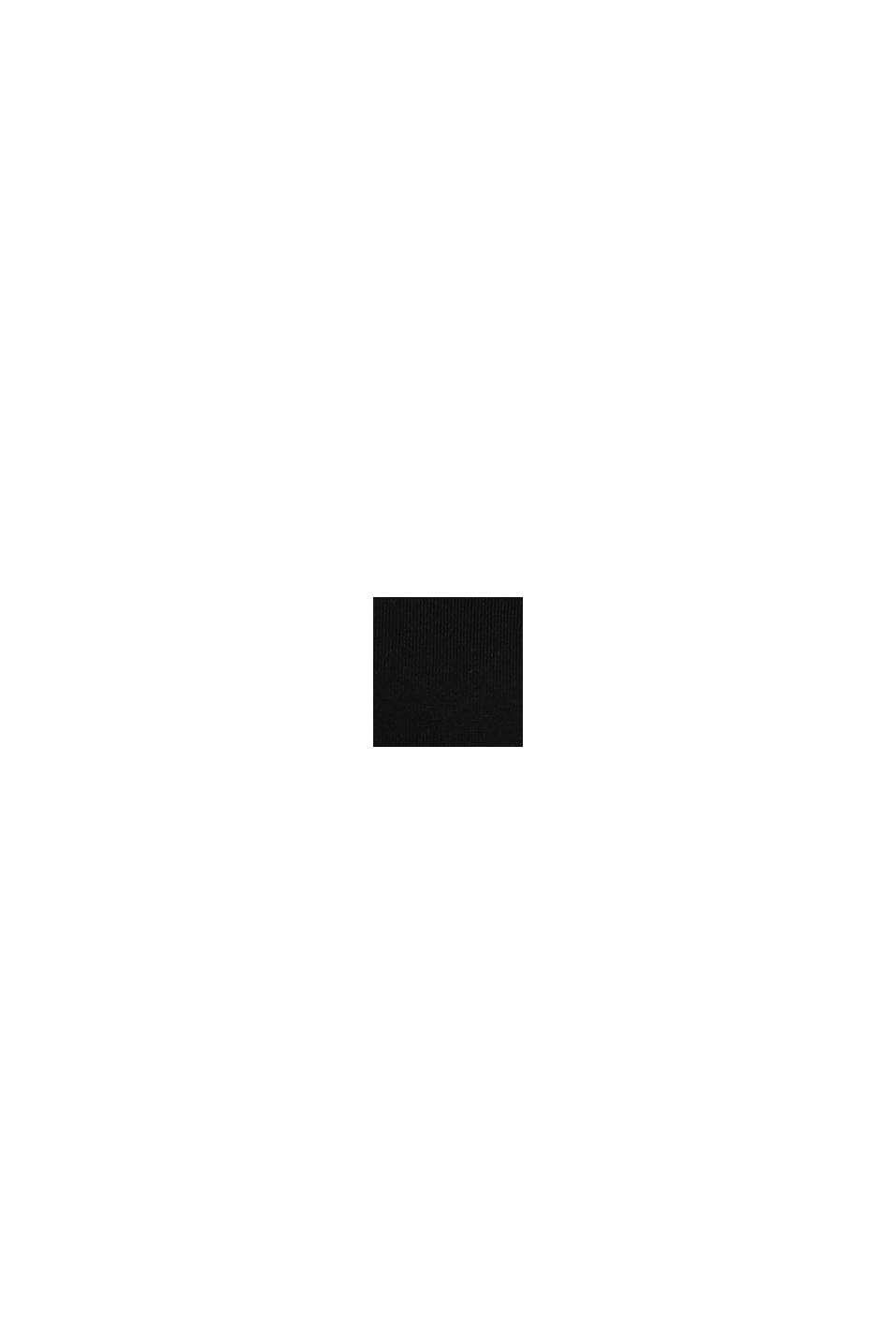 Cardigan basic in maglia sottile, BLACK, swatch