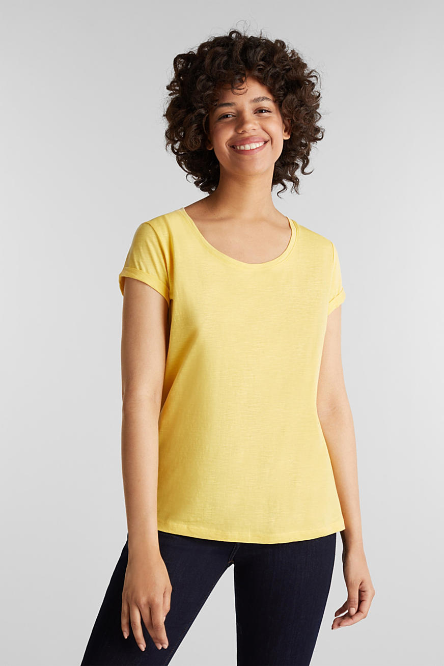 Shirt mit Organic Cotton