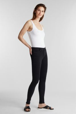 Stretch vest containing organic cotton, WHITE, detail