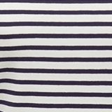 Striped T-shirt containing organic cotton, NAVY, swatch