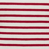 Striped T-shirt containing organic cotton, DARK RED, swatch