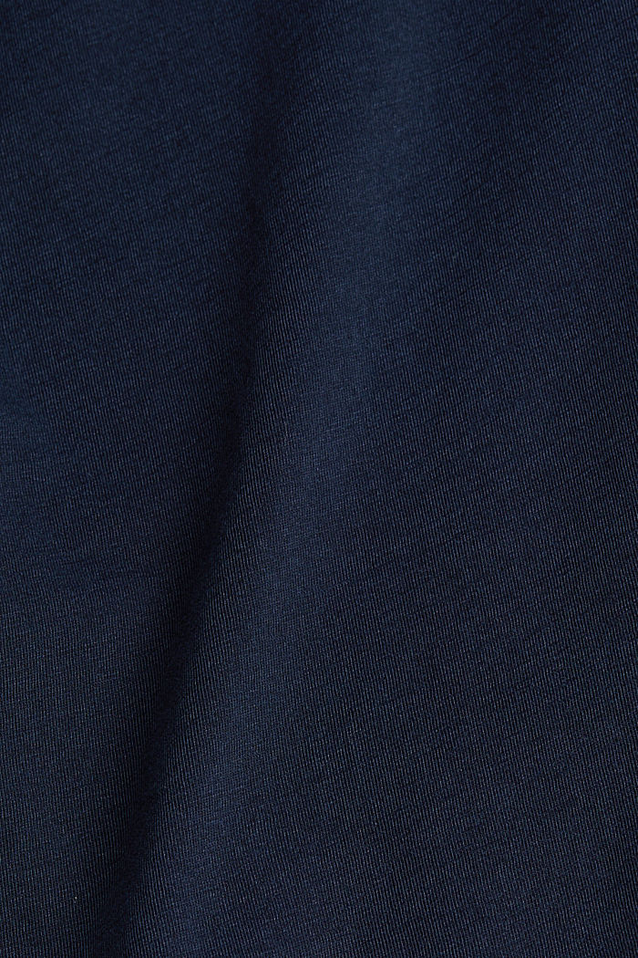 Jersey top made of 100% organic cotton, NAVY, detail image number 4