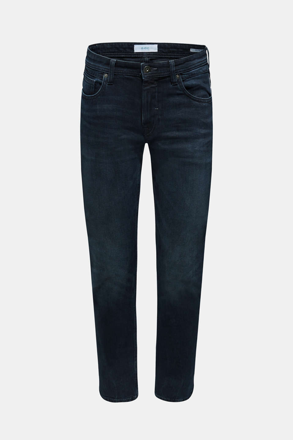 Pants denim Slim fit, BLUE DARK WASH, detail image number 6