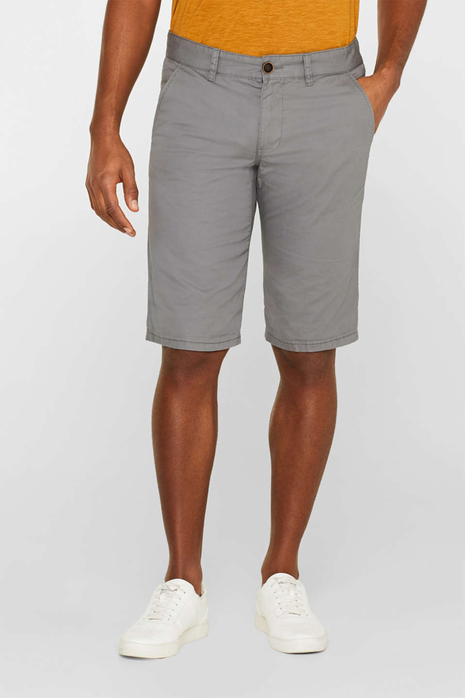 edc - Chino-Shorts mit Organic Cotton