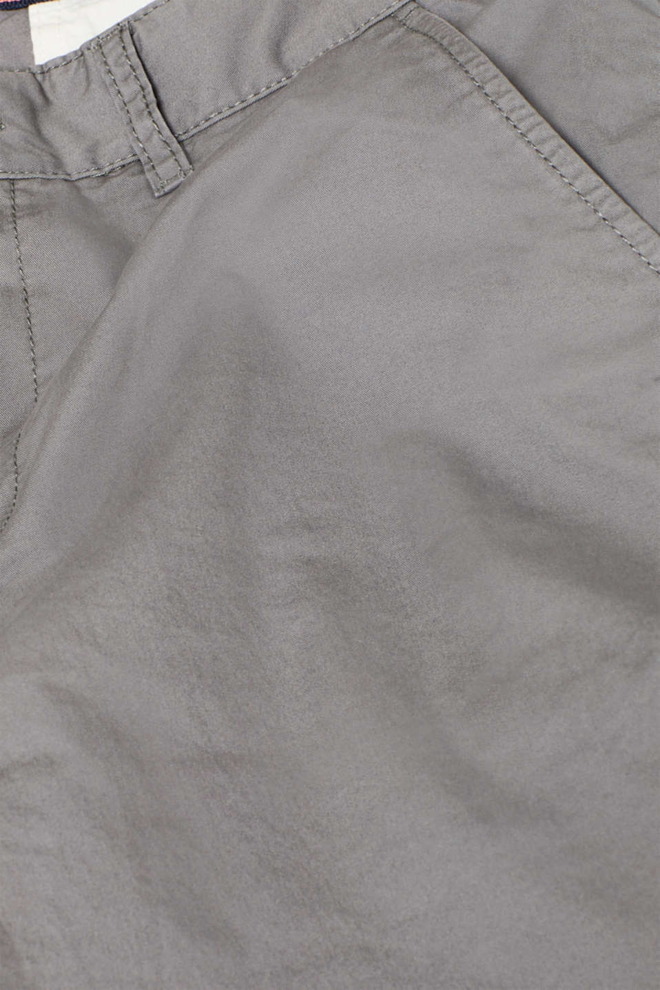 Shorts with organic cotton, DARK GREY, detail image number 4