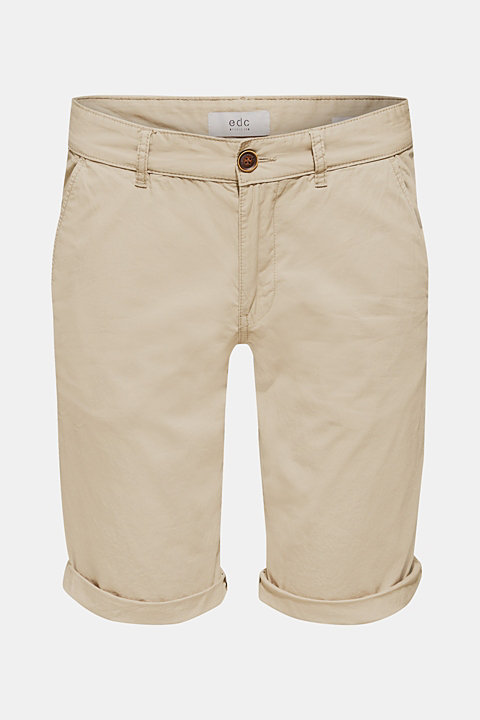 Chino shorts with organic cotton