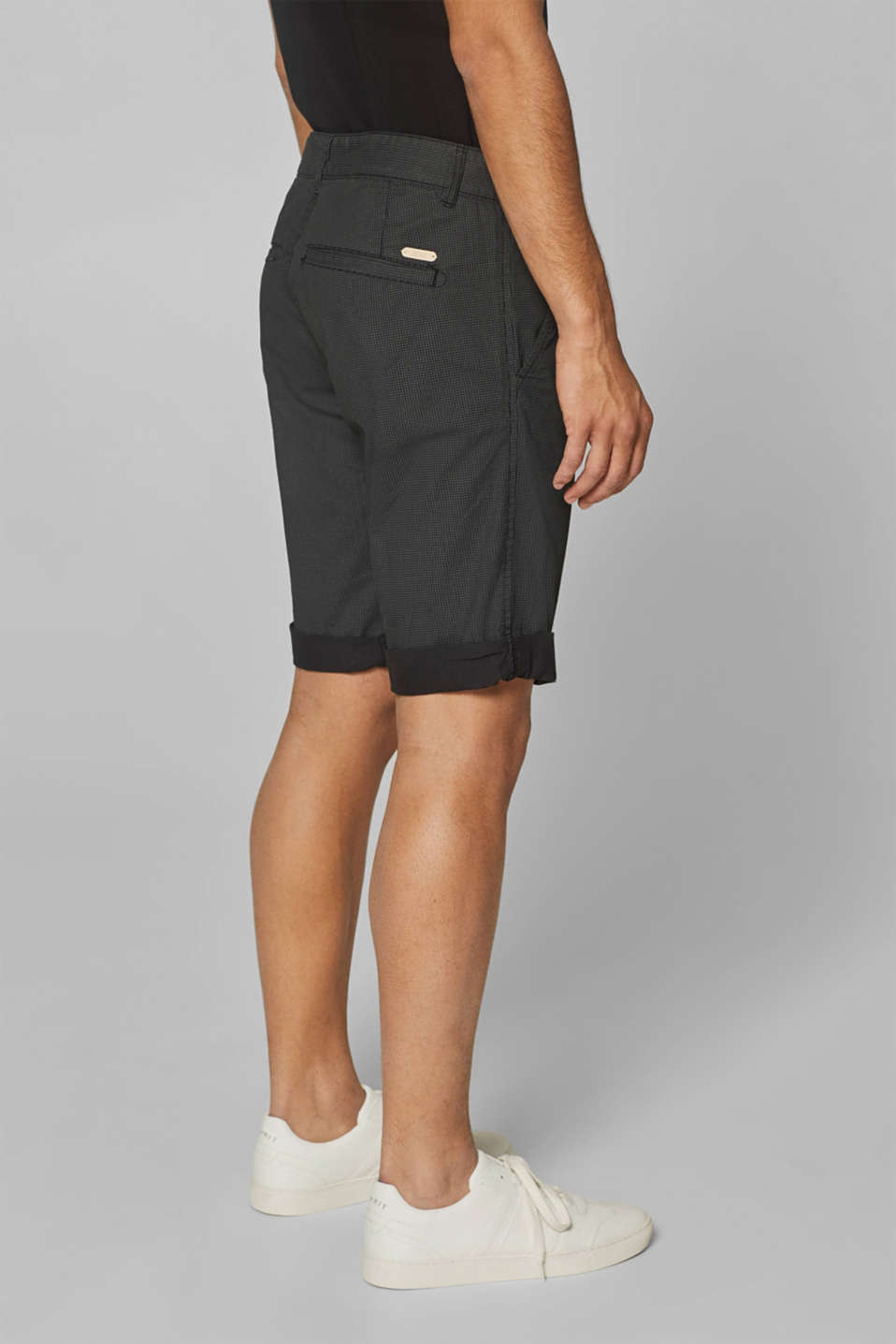 Shorts woven Slim fit, ANTHRACITE, detail image number 3