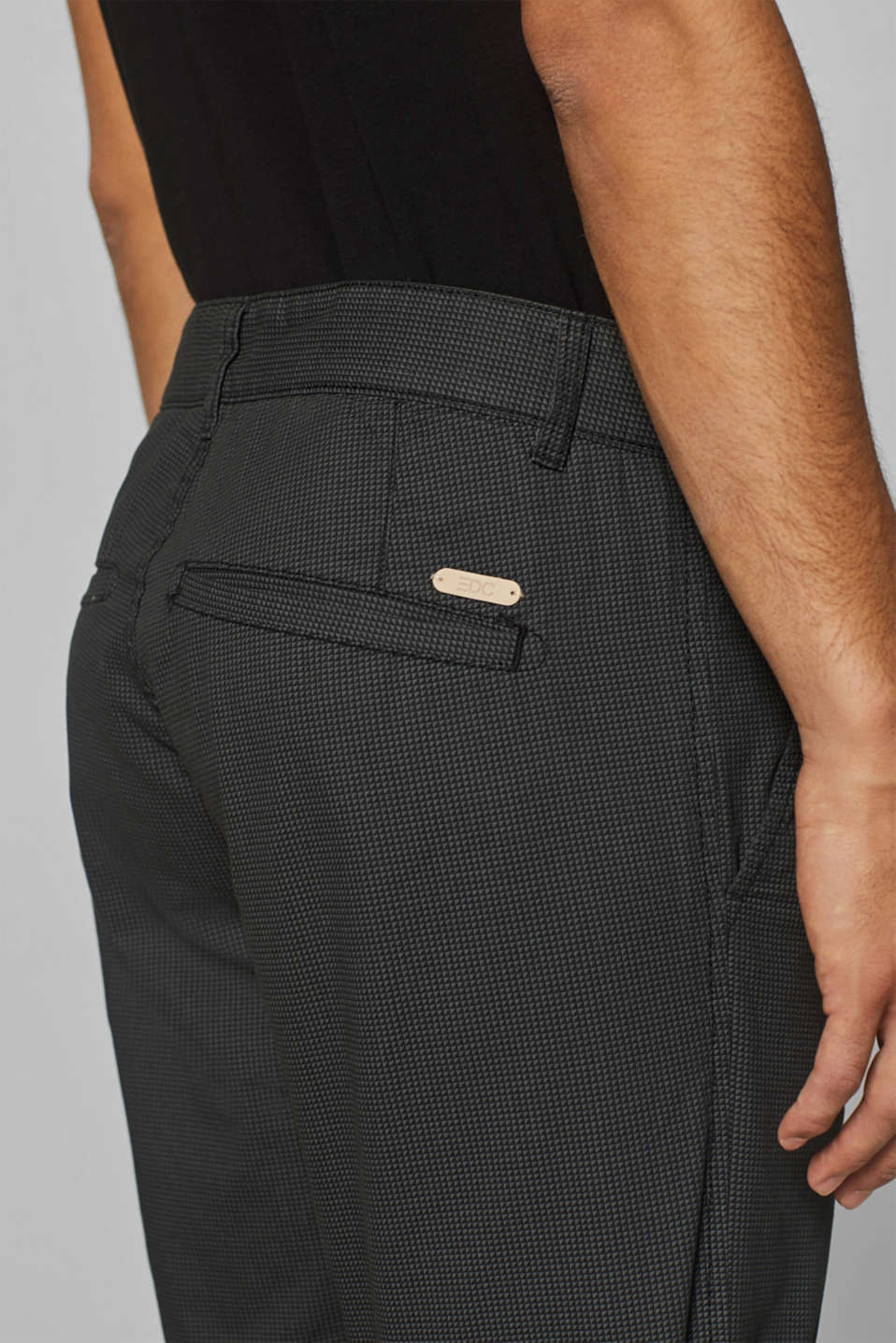 Shorts woven Slim fit, ANTHRACITE, detail image number 5