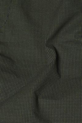 Print shorts in 100% cotton, DARK GREEN, detail
