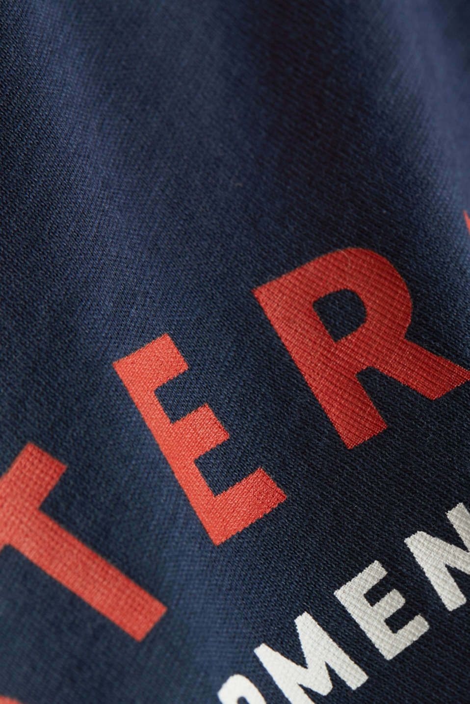 Jersey T-shirt with a print, 100% cotton, NAVY, detail image number 4