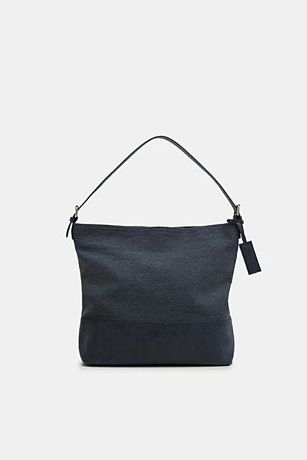 Cotton hobo bag. Blue · Beige · Black · Cotton hobo bag. £ 39.00. Faux leather  tote bag 7277a6a290be2
