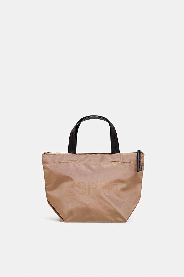 Nylon-Handtasche mit Logo-Print