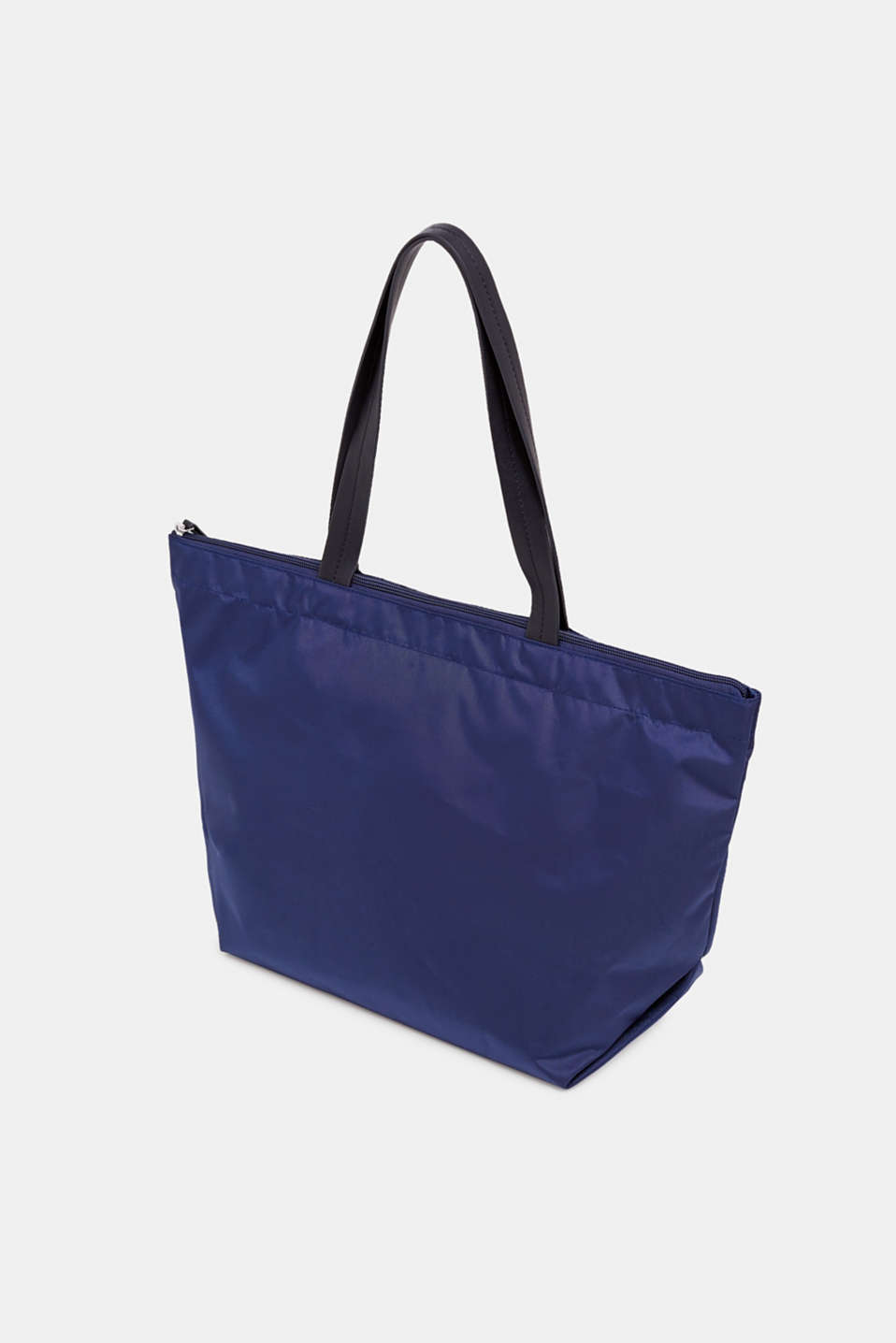 Nylon shopper with a logo print, NAVY, detail image number 5