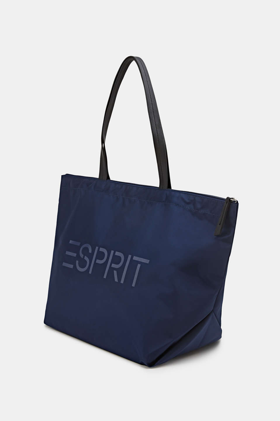 Nylon tote bag, NAVY, detail image number 2