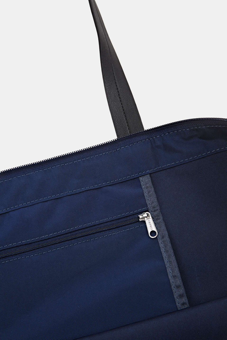 Nylon tote bag, NAVY, detail image number 4