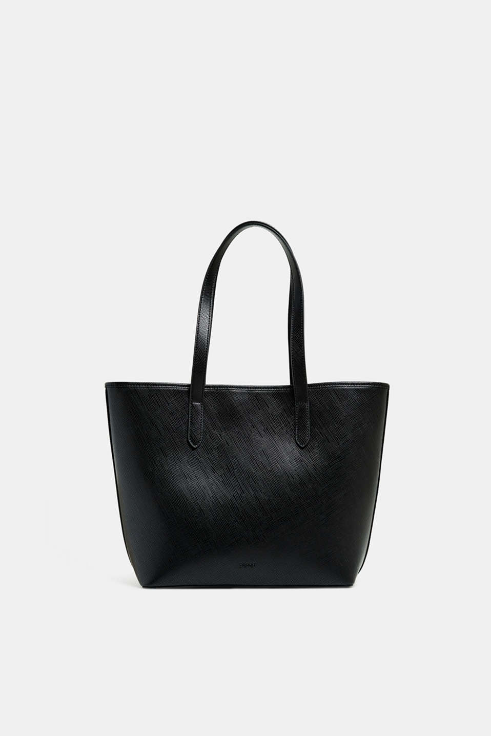 Esprit - Faux leather tote bag