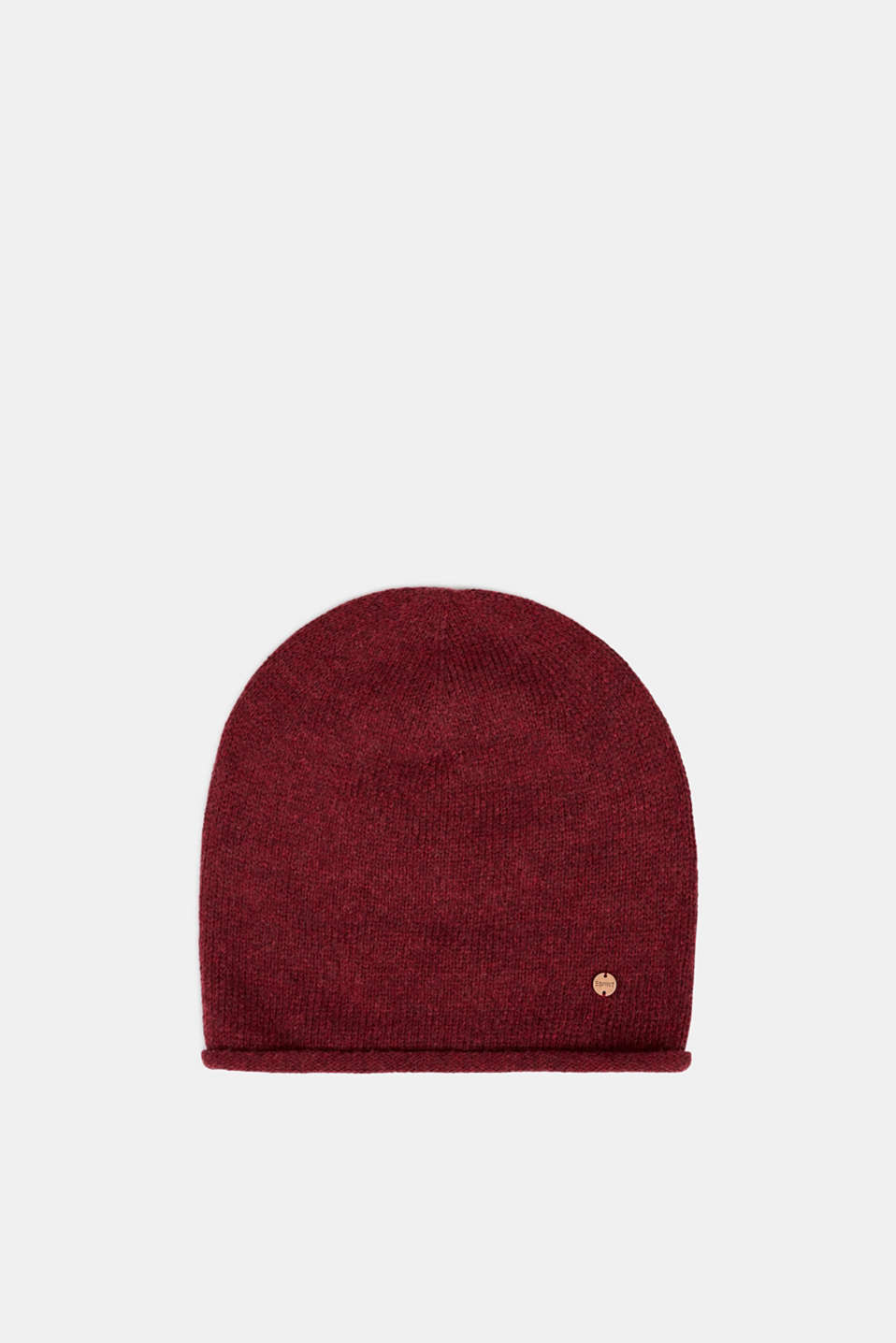 Esprit - Knit cap with wool