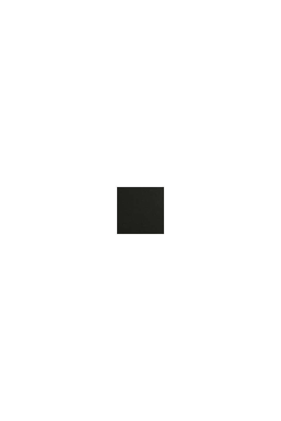 Brett skärp i skinn, BLACK, swatch
