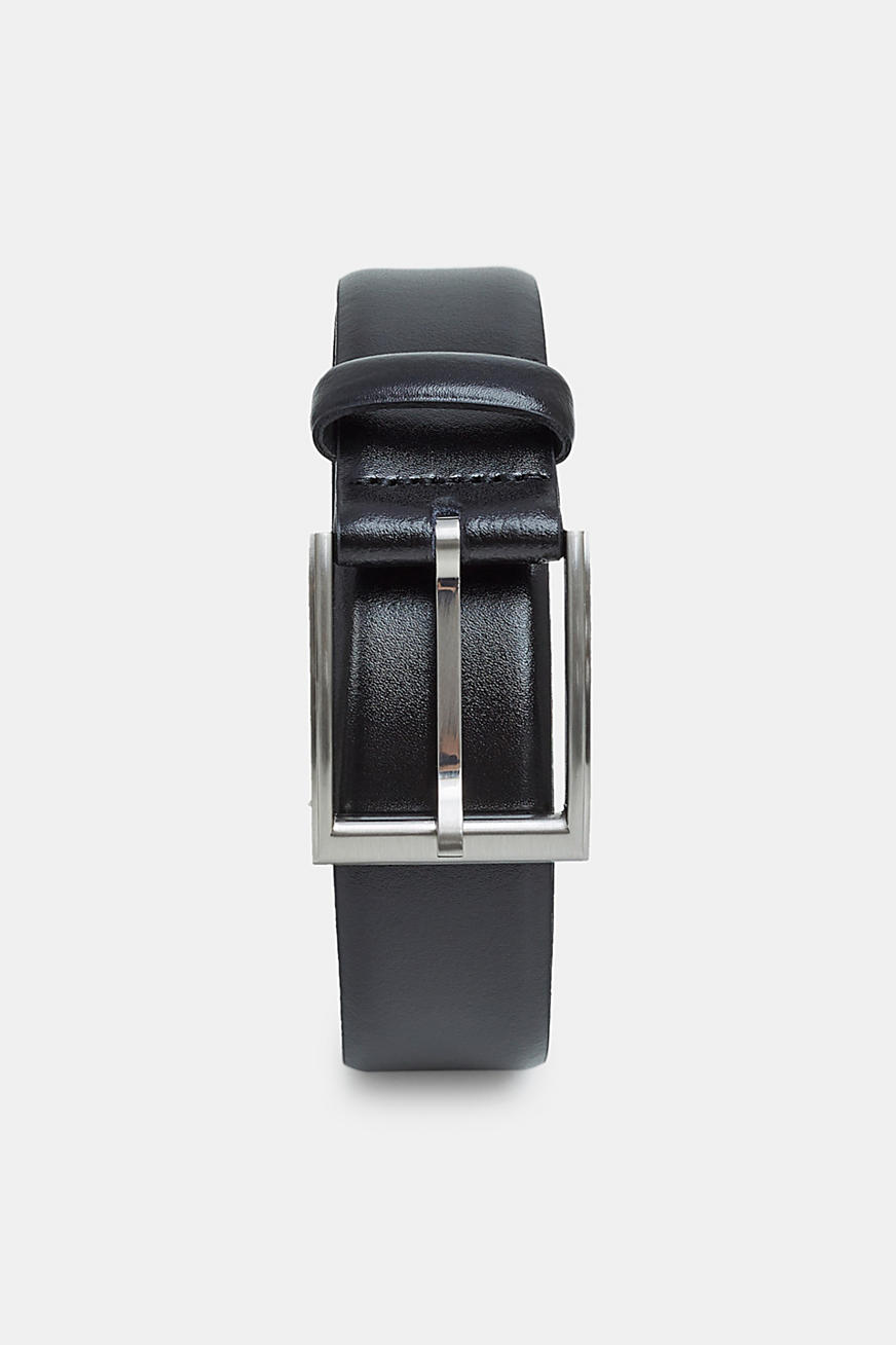 Leather business belt