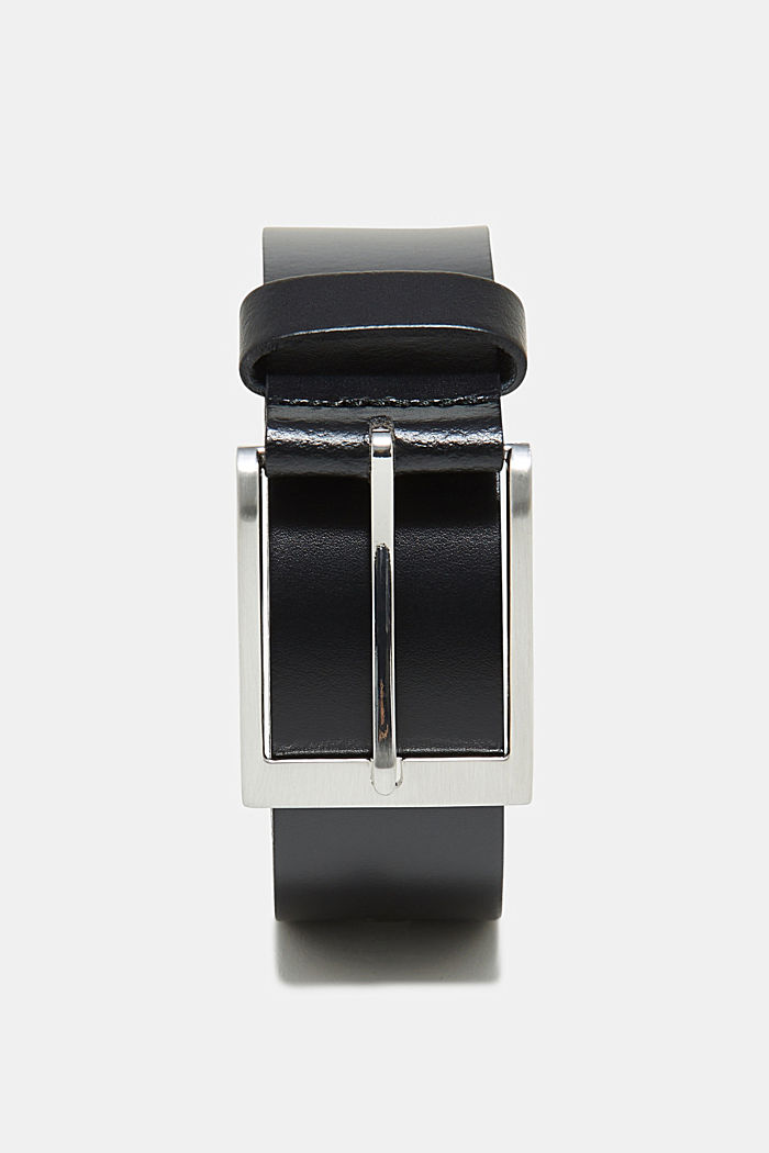 Basic smooth leather belt
