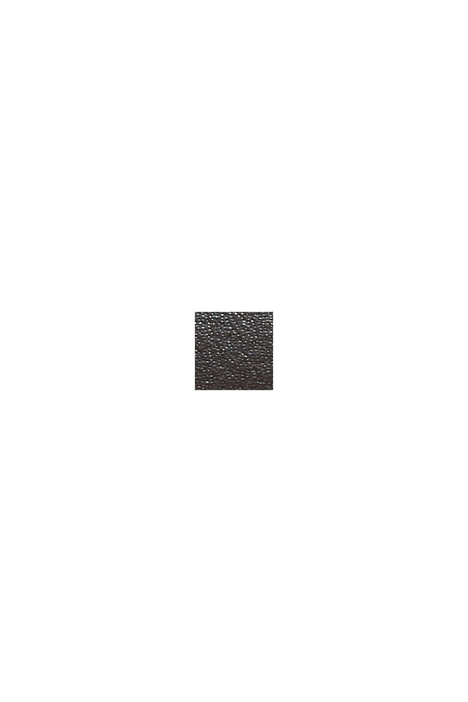 Ceinture basique en cuir lisse, BROWN, swatch