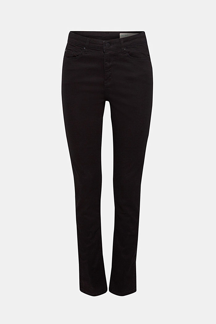 Stretch jeans containing organic cotton, BLACK, detail image number 5