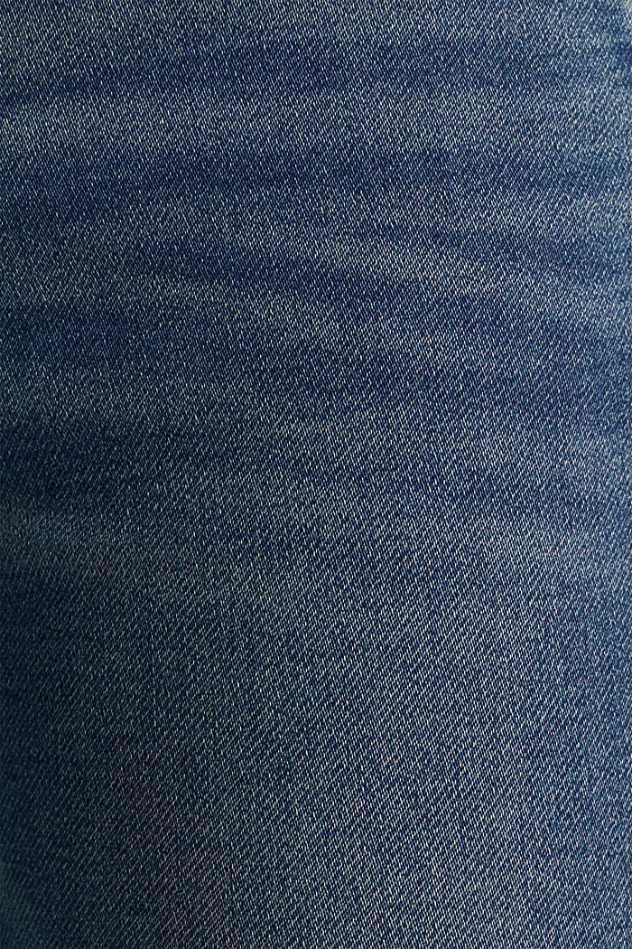 Tracksuit bottom jeans with super stretch, BLUE MEDIUM WASHED, detail image number 4