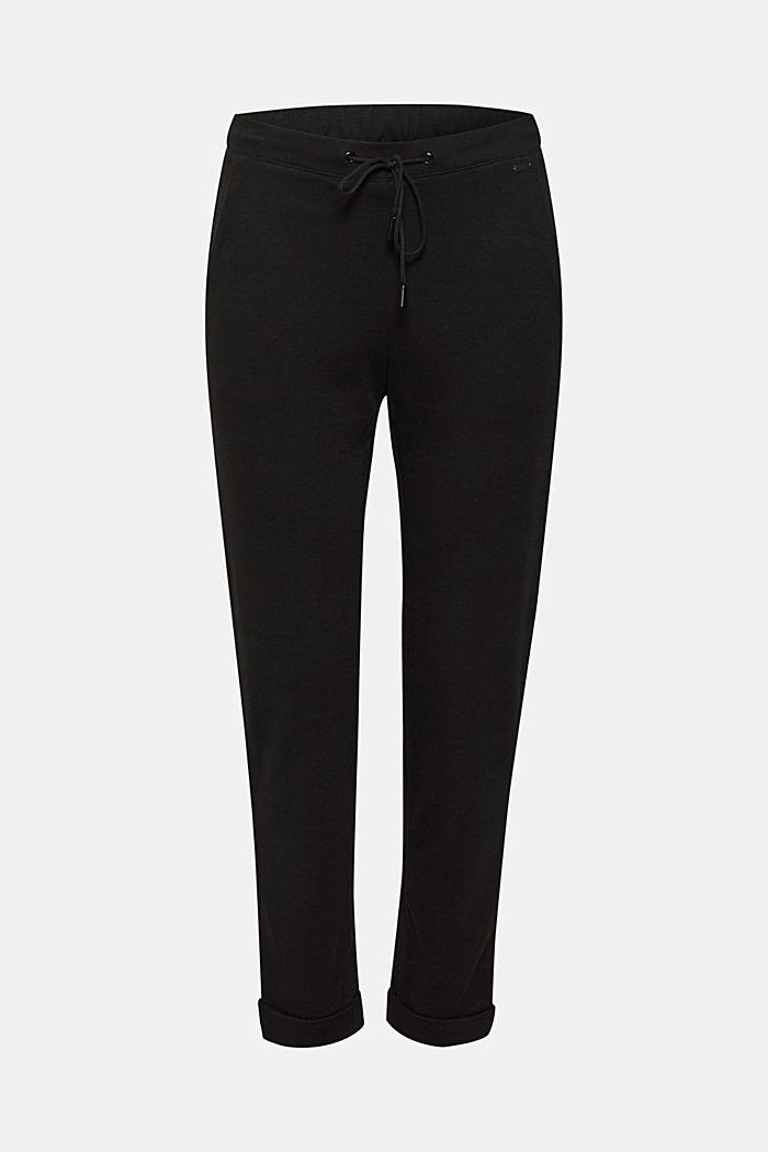 Jogger-Pants aus Jersey-Stretch