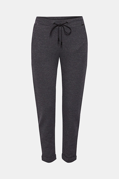 Tracksuit bottoms with stretch for comfort