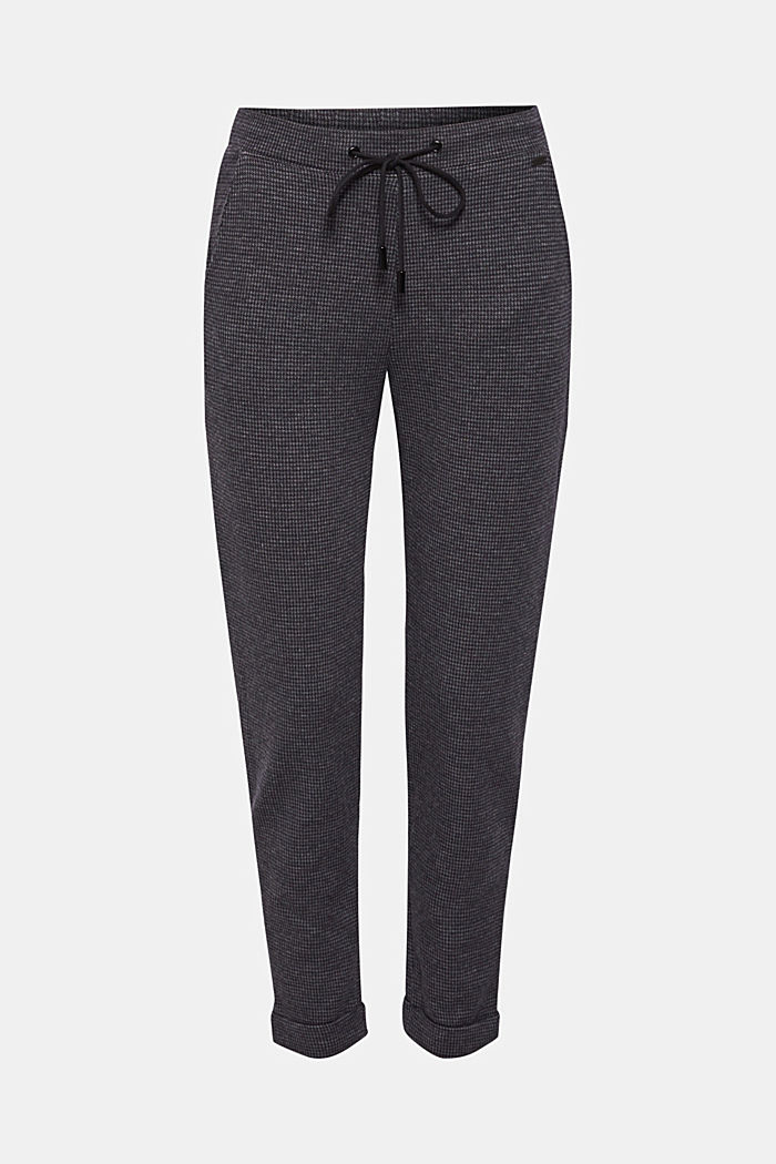 Tracksuit bottoms with stretch for comfort, GREY BLUE, detail image number 0
