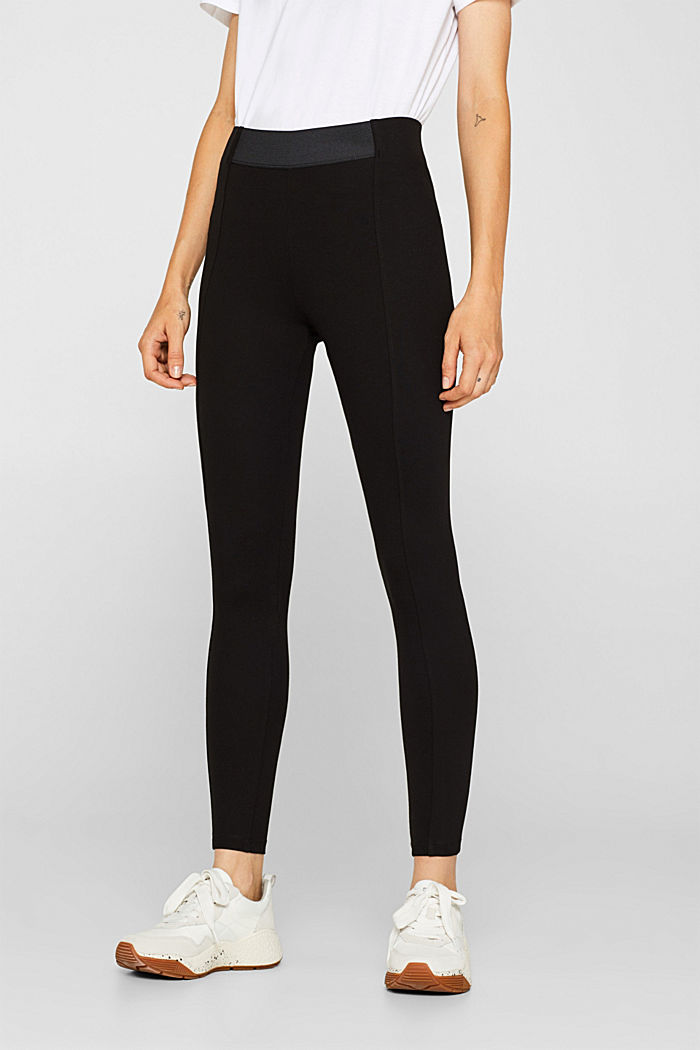Stretch trousers made of punto jersey