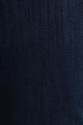 Basic jeans in dark denim, BLUE DARK WASH, detail