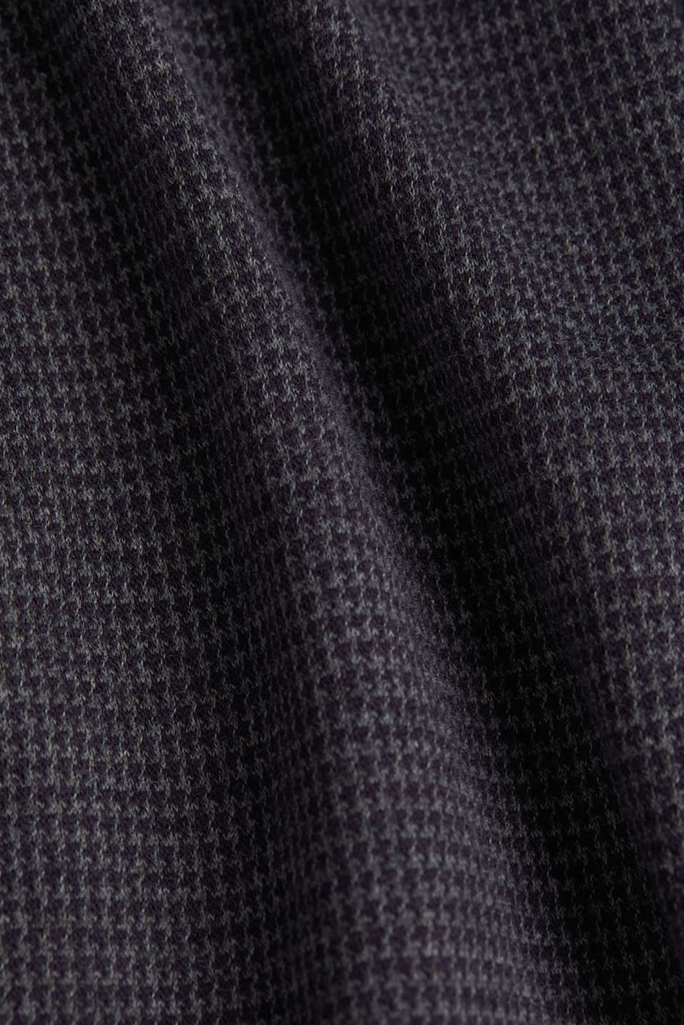 Stretch jersey dress with a jacquard pattern, GREY BLUE, detail image number 4