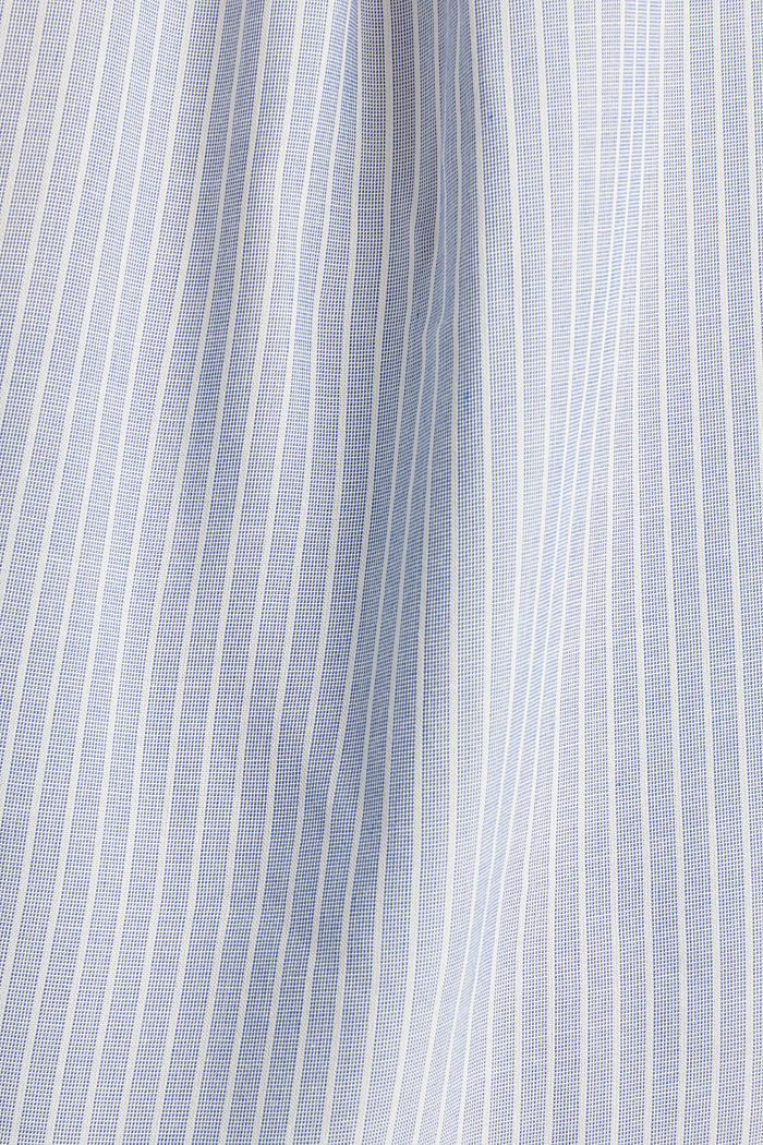 Striped blouse with turn-up sleeves, PASTEL BLUE, detail image number 4