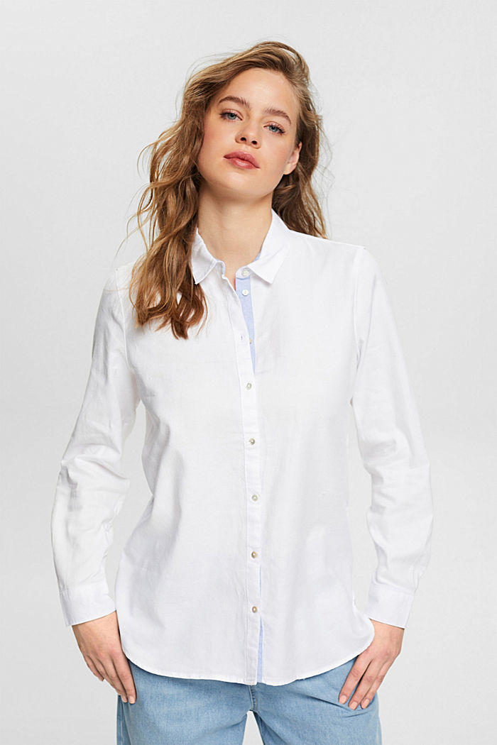 Shirt blouse made of 100% cotton