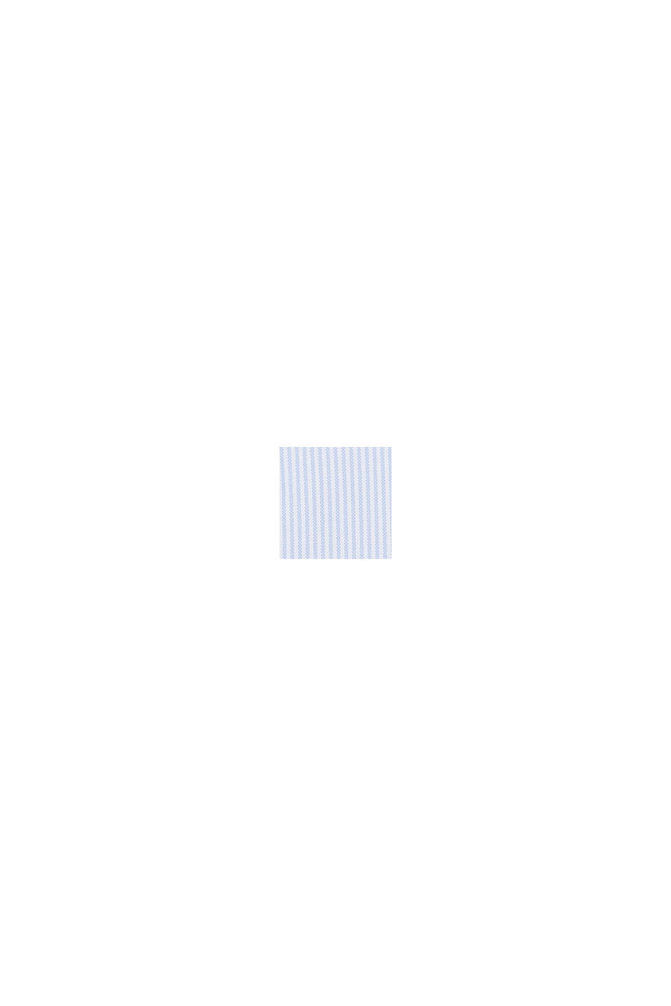 Striped blouse in 100% cotton, WHITE, swatch